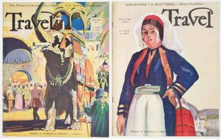 Travel. September 1930 and January 1932. [VINTAGE MAGAZINE - TWO ISSUES]. WINTER SPORTS / CUBA...