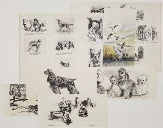 Studio of Alec Stern [salesman's samples of greeting cards - more than 50 different designs].