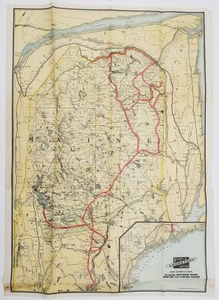 In the Maine Woods. 1930, 1931, 1934. [THREE VINTAGE GUIDES WITH MAPS].