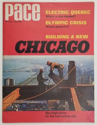 Pace. July 1968. CHICAGO
