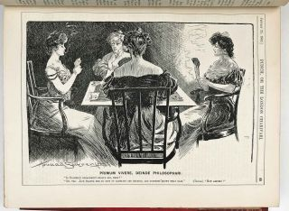 Punch, or the London Charivari. Complete year 1905. Volumes CXXVIII and CXXIX. WOMEN'S LIBERATION...
