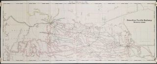Canadian Pacific Railway. Western Lines. CANADIAN PACIFIC RAILWAY