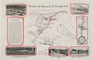 Visitor's Guide to Longview Washington. The New Industrial City of the Pacific Northwest....