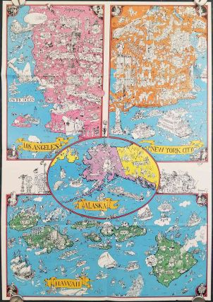 A Mad Pictorial Map of the United States.