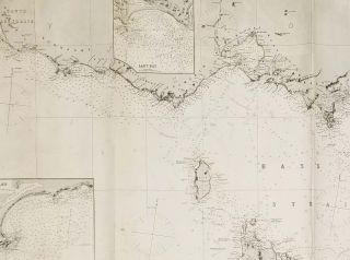 South and East Coasts of Australia (In Four Charts). Chart No. 2, Cape Northumberland to to Cape Howe.