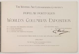 The Winters Art Lithographing Company's Popular Portfolios of the World's Columbian Exposition.