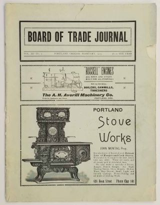 Board of Trade Journal. February 1905. Vol. III - No. 2. (Formerly the Columbia River Journal).