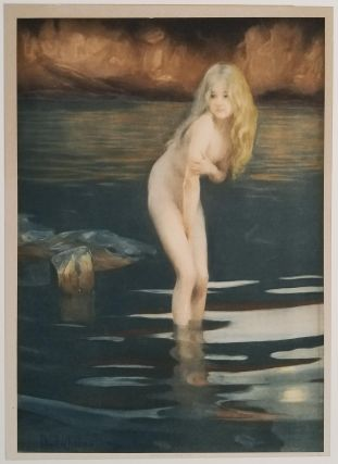 La Baigneuse (The Bather)]. PAUL EMILE - COLOR LITHOGRAPH CHABAS