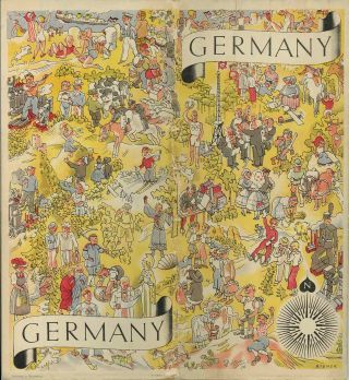 Germany, the Beautiful Travel Country. [Cover title: Germany].