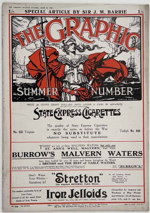 """The Graphic. Summer Number. June 15, 1918. [with article: """"The Problems of the Submarine: Its Limitations and Its Possibilities""""]"""
