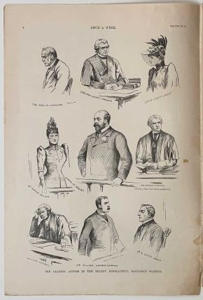 Once A Week. An Illustrated Weekly Newspaper. September 2, 1890. July 7, 1891.